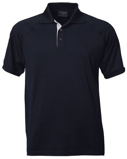 Stencil-Stencil Men's Team Polo-Navy/White / S-Corporate Apparel Online - 5