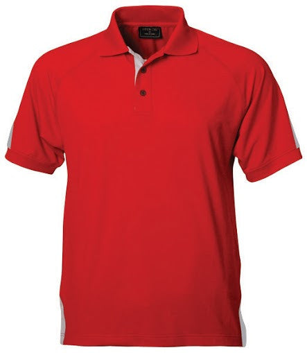Stencil-Stencil Men's Team Polo-Red/Silver / S-Corporate Apparel Online - 3