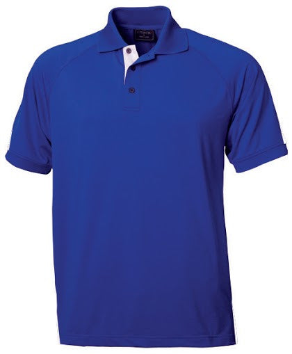 Stencil-Stencil Men's Team Polo-Royal/White / S-Corporate Apparel Online - 4