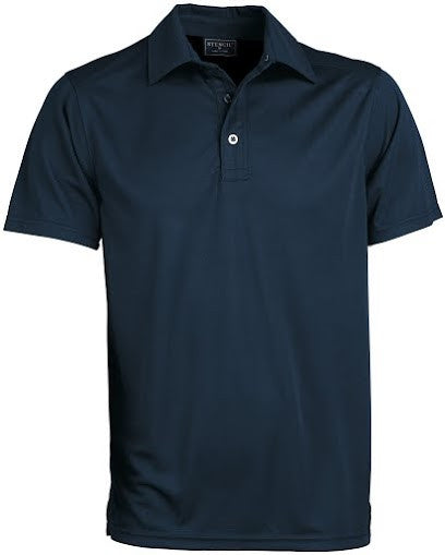 Stencil-Stencil Men's Glacier Polo-Navy / S-Corporate Apparel Online - 6