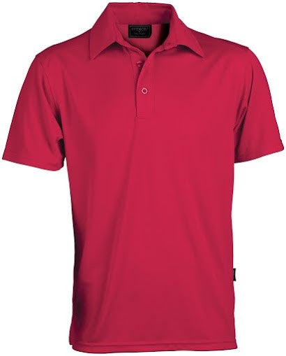 Stencil-Stencil Men's Glacier Polo-Red / S-Corporate Apparel Online - 3