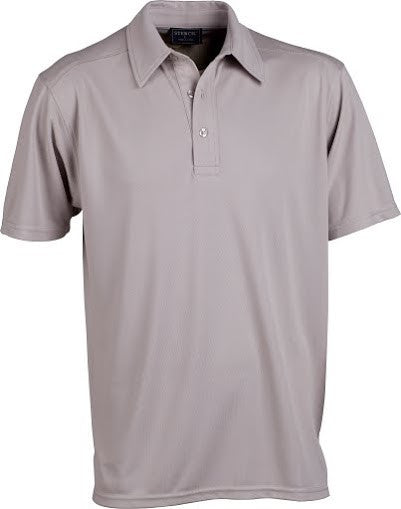 Stencil-Stencil Men's Glacier Polo-Sandstone / S-Corporate Apparel Online - 2