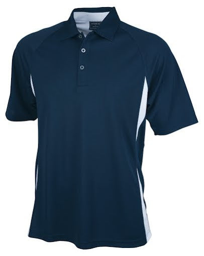 Stencil-Stencil Men's Arctic Polo-Navy/White / S-Corporate Apparel Online - 5