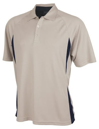 Stencil-Stencil Men's Arctic Polo-Sandstone/Navy / S-Corporate Apparel Online - 2