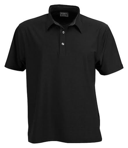Stencil-Stencil Men's Argent Polo-Black ( indent colours ) / S-Corporate Apparel Online - 9