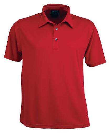 Stencil-Stencil Men's Argent Polo-Red ( indent colours ) / S-Corporate Apparel Online - 6