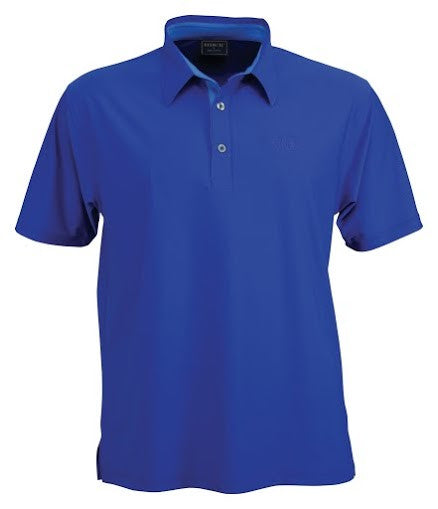 Stencil-Stencil Men's Argent Polo-Royal blue / S-Corporate Apparel Online - 3