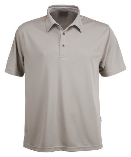 Stencil-Stencil Men's Argent Polo-Sandstone / S-Corporate Apparel Online - 2