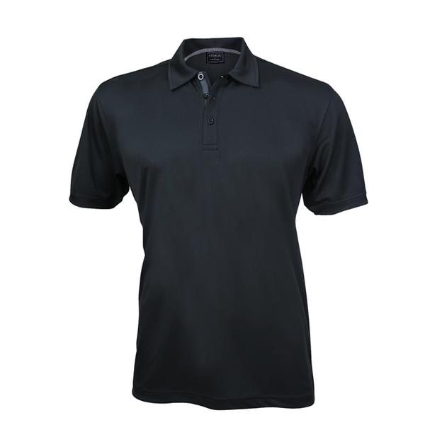 Stencil Superdry Mens S/S Polo-(1062)