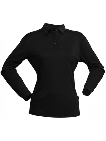 Stencil Freshen Polo L/S 1143 Ladies L/S Polo (1143)