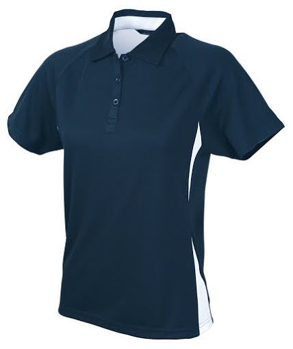 Stencil-Stencil Ladies' Arctic Polo-Navy/White / 8-Corporate Apparel Online - 5