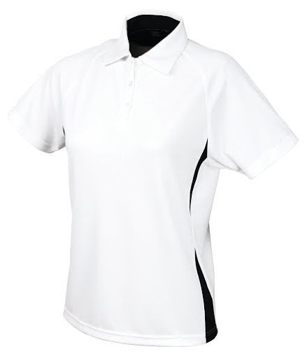 Stencil-Stencil Ladies' Arctic Polo-White/Navy / 8-Corporate Apparel Online - 1