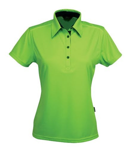 Stencil-Stencil Ladies' Argent Polo-Lime green ( indent colours ) / 8-Corporate Apparel Online - 7