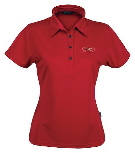 Stencil-Stencil Ladies' Argent Polo-Red ( indent colours ) / 8-Corporate Apparel Online - 6
