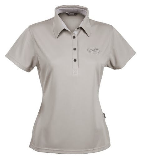 Stencil-Stencil Ladies' Argent Polo-Sandstone / 8-Corporate Apparel Online - 2