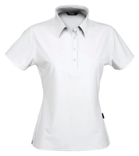 Stencil-Stencil Ladies' Argent Polo-White / 8-Corporate Apparel Online - 1