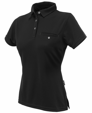 Stencil Boston Ladies S/S Polo-(1163)