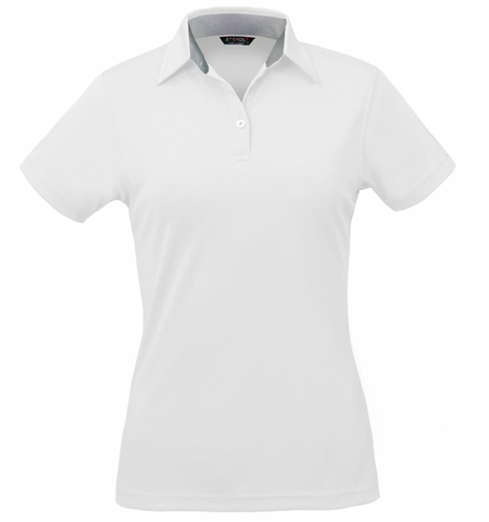 Stencil Kahve Ladies S/S Polo(1164)