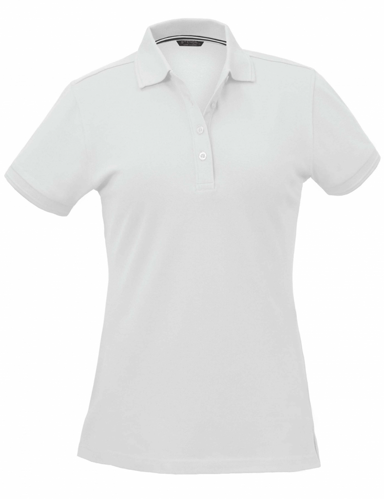 Stencil Oceanic Ladies S/S Polo-(1165)