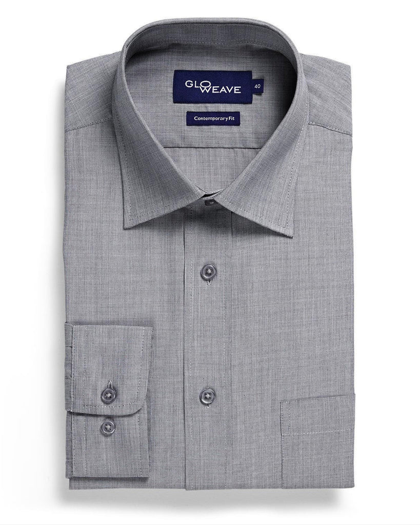 Gloweave-Gloweave Mens End On End L/S Shirt--Corporate Apparel Online - 2