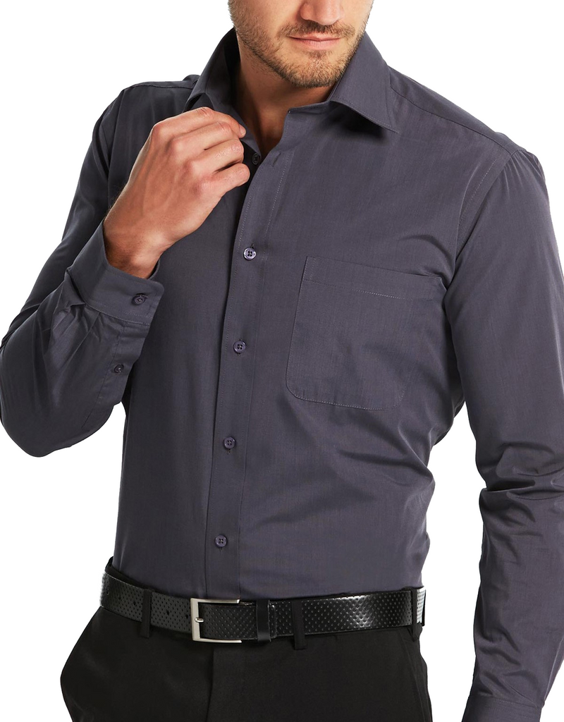 Gloweave-Gloweave Mens End On End L/S Shirt--Corporate Apparel Online - 1