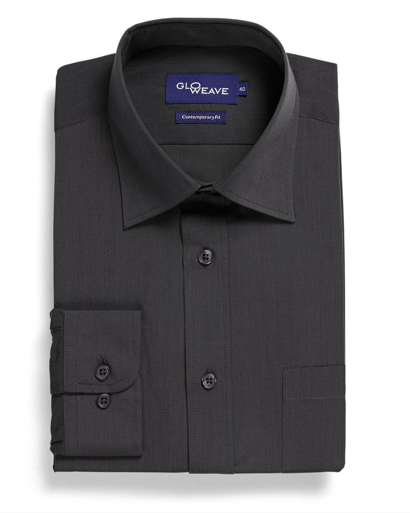Gloweave-Gloweave Mens End On End L/S Shirt--Corporate Apparel Online - 3