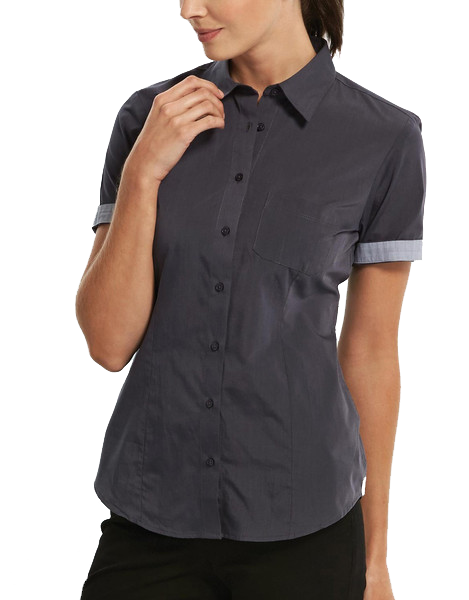 Gloweave-Gloweave Ladies  End On End S/S Hospitality Shirt--Corporate Apparel Online - 1