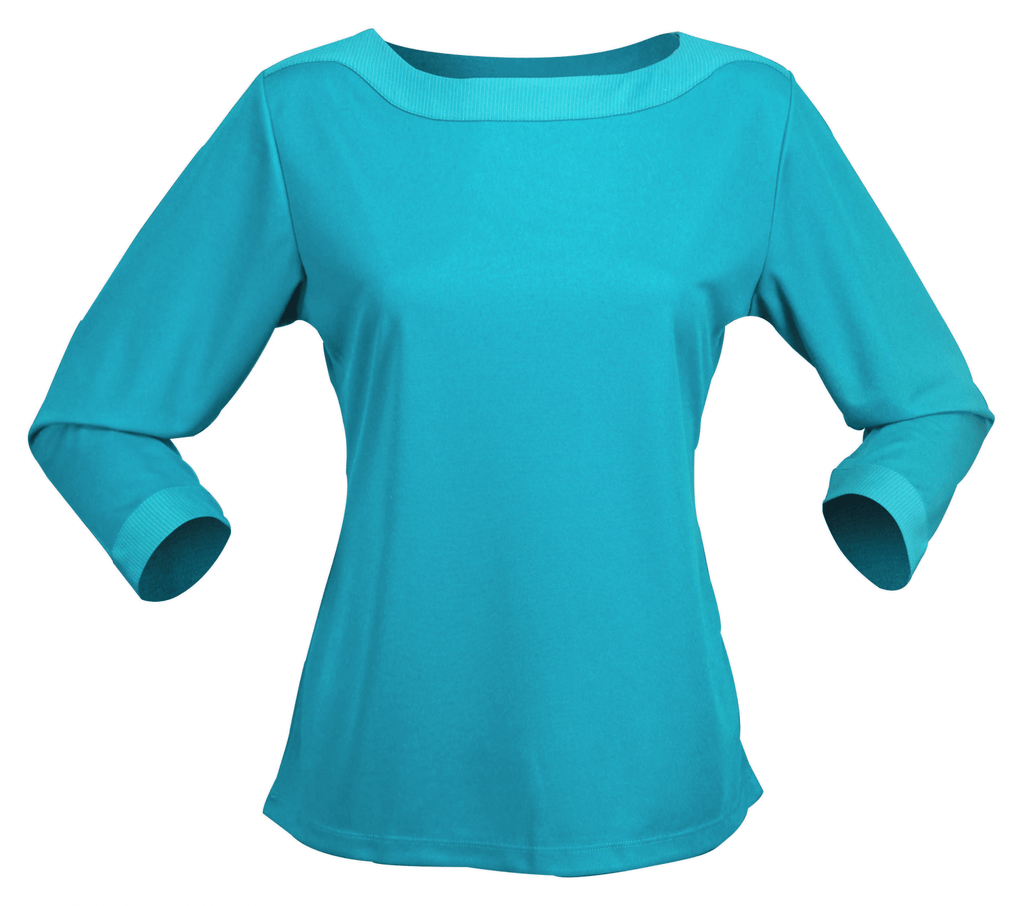 Stencil Argent 3/4S Ladies Top (1259Q)