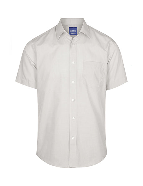 Gloweave Mens Puppy Tooth Check S/S Shirt (1267S)