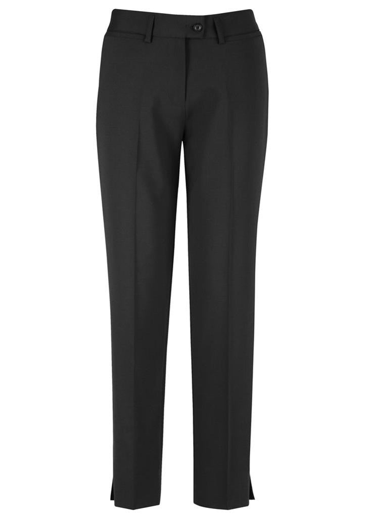 Biz Corporates-Biz Corporates Ladies Slim Fit Pant-Black / 4-Corporate Apparel Online - 2