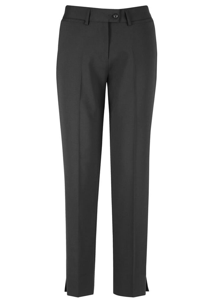 Biz Corporates-Biz Corporates Ladies Slim Fit Pant-Charcoal / 4-Corporate Apparel Online - 4