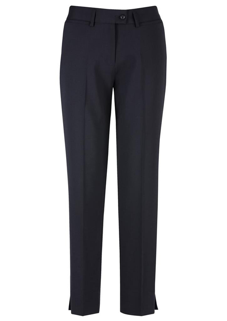 Biz Corporates-Biz Corporates Ladies Slim Fit Pant-Navy / 4-Corporate Apparel Online - 6