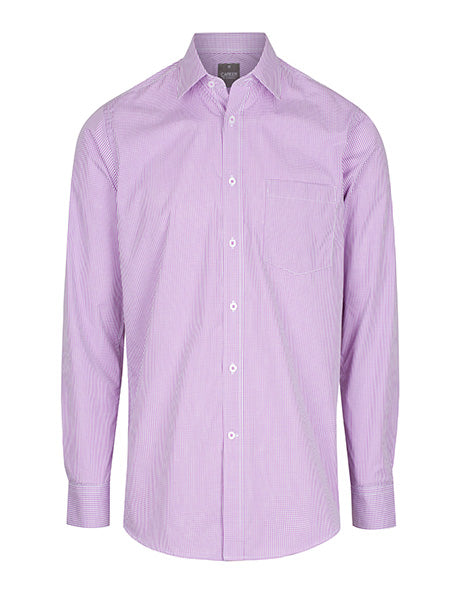 Gloweave Men's Gingham Long Sleeve Shirt (1637L)