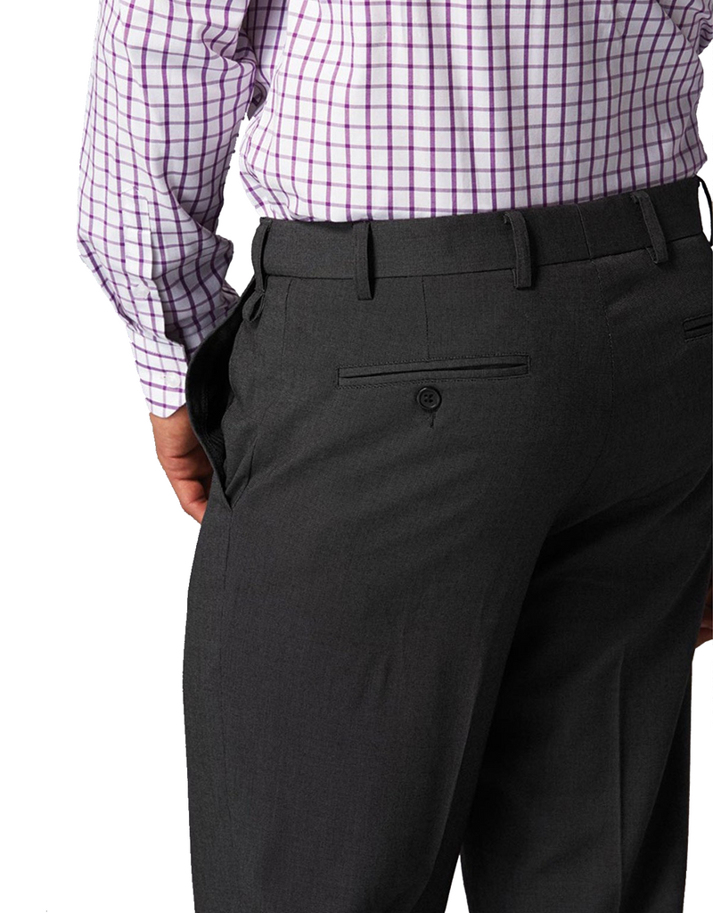 Gloweave-Gloweave Men's Flat Front Pant--Corporate Apparel Online - 1