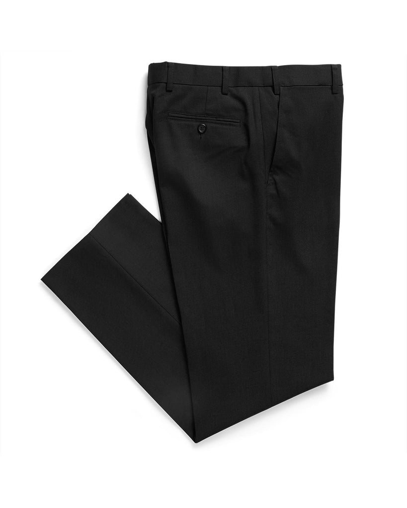 Gloweave-Gloweave Men's Flat Front Pant-Black / 77-Corporate Apparel Online - 3
