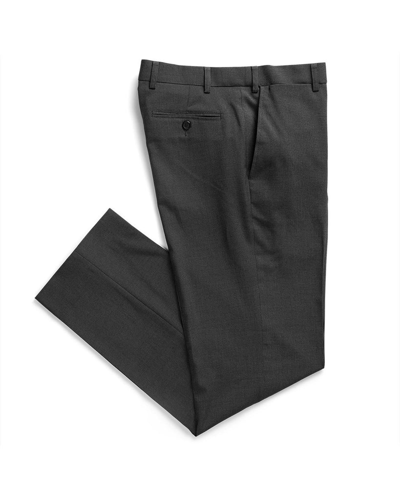 Gloweave-Gloweave Men's Flat Front Pant-Charcoal / 77-Corporate Apparel Online - 2