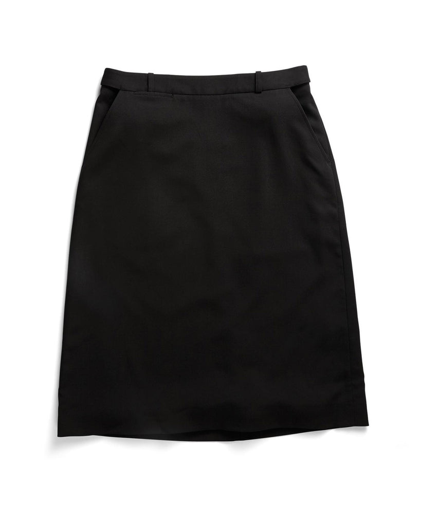 Gloweave-Gloweave Ladies 'A' Line Skirt-Black / 6-Corporate Apparel Online - 3