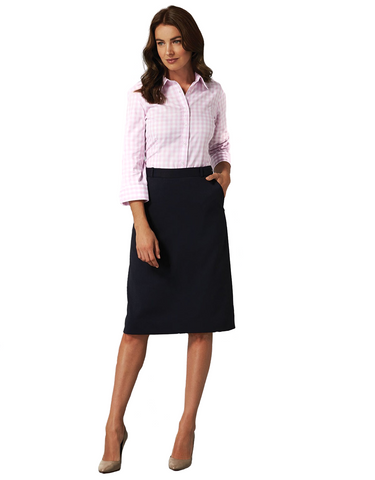 Gloweave-Gloweave Ladies 'A' Line Skirt--Corporate Apparel Online - 1