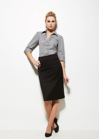 Biz Corporates-Biz Corporates Relaxed Fit Skirt--Corporate Apparel Online - 1