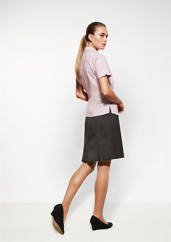 Biz Corporates-Biz Corporates Multi Pleat Skirt--Corporate Apparel Online - 1