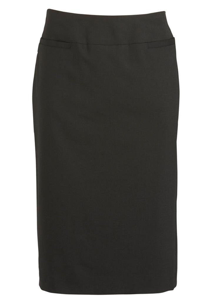 Biz Corporates-Biz Corporates Ladies Relaxed Fit Lined Skirt-Black / 4-Corporate Apparel Online - 2