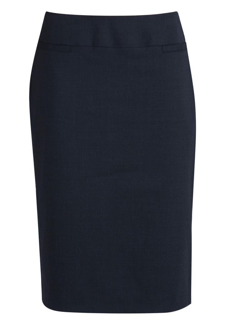 Biz Corporates-Biz Corporates Ladies Relaxed Fit Lined Skirt-Navy / 4-Corporate Apparel Online - 6