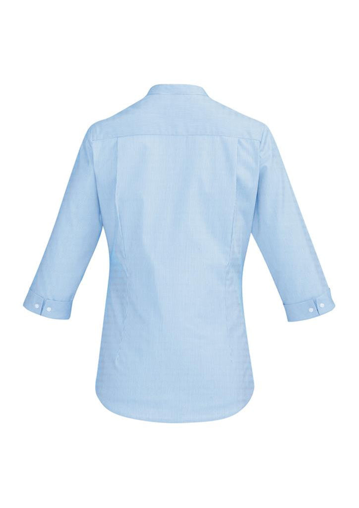 Biz Corporates-Biz Corporate Bordeaux Ladies 3/4 Sleeve Shirt--Corporate Apparel Online - 4