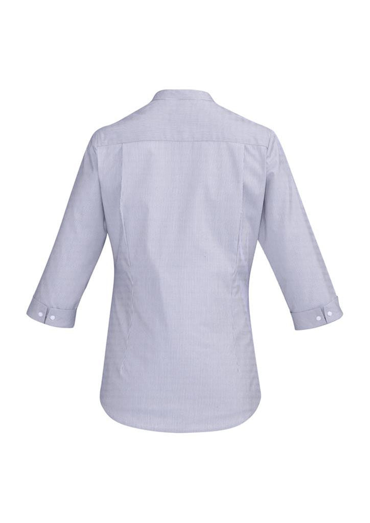 Biz Corporates-Biz Corporate Bordeaux Ladies 3/4 Sleeve Shirt--Corporate Apparel Online - 10