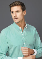 Biz Corporates-Biz Corporate Fifth Avenue Mens Long Sleeve Shirt--Corporate Apparel Online - 1