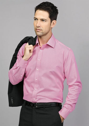Biz Corporates-Biz Corporate Hudson Mens Long Sleeve Shirt--Corporate Apparel Online - 1