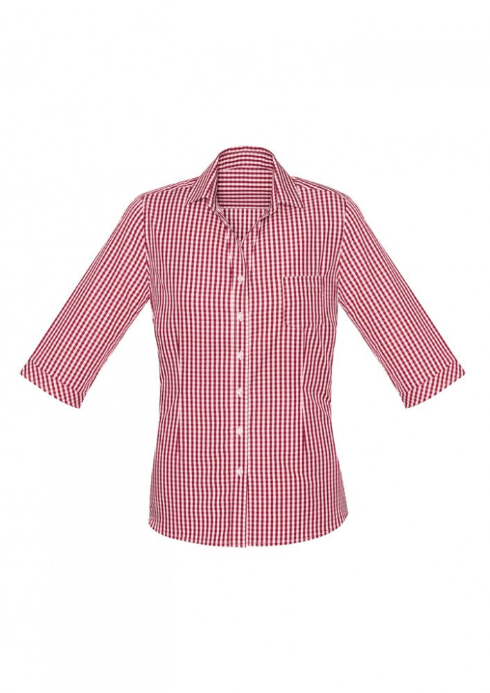 Biz Corporate Springfield Ladies 3/4 Sleeve Shirt (43411)