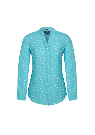 Biz Corporate Womens Juliette Spot Prnit Blouse (44310)