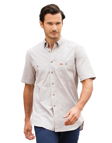 Gloweave-Gloweave Men's Iconic Chambray S/S Shirt--Corporate Apparel Online - 1