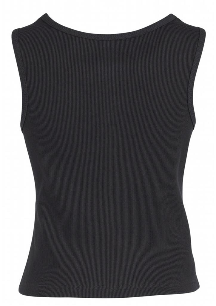 Biz Corporates-Biz Corporates Peaked Ladies Vest with Knitted Back--Corporate Apparel Online - 5